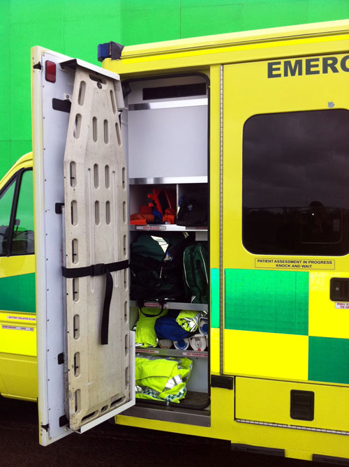 London ambulance hire